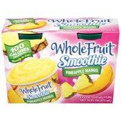 Whole Fruit Pineapple Mango Frozen Smoothie