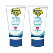 Banana Boat imply Protect Sensitive Face Sunscreen Lotion With SPF 50