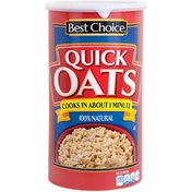 Best Choice 100% Natural Quick Oats