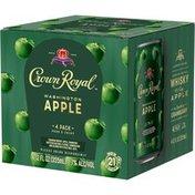 Crown Royal Washington Apple Canadian Whisky Cocktail