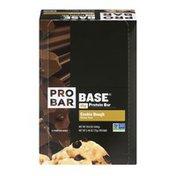 PROBAR Base 15g Protein Bar Cookie Dough - 12 CT