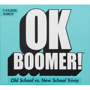 OK Boomer! Game, Old School vs New School Trivia, 18 and Up