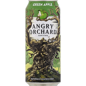 Angry Orchard Green Apple Hard Cider, Spiked