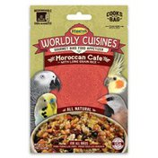 Higgins Wordly Cuisines Gourmet Bird Food Appetizer Moroccan Cafe for All Birds