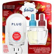 Febreze Air Freshener Scented Oil Refill and Oil Warmer, Fresh-Pressed