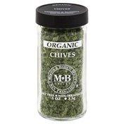 Morton & Bassett Spices Chives, Organic, Jar