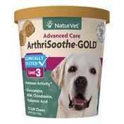NaturVet Advanced Care ArthriSoothe Gold Level 3 Soft Chews