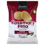 Essential Everyday Potato Chips, Flavored, Rosemary Feta
