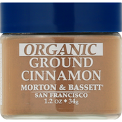 Morton & Bassett Spices Cinnamon, Organic, Ground
