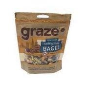 Graze Single Serve New York Everything Bagels