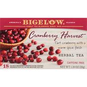 Bigelow Herbal Tea, Cranberry Harvest, Caffeine Free, Tea Bags