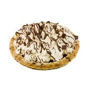 "9"" French Silk Chocolate & Whipped Cream Pie"