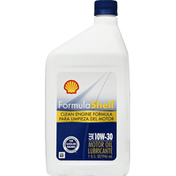 Shell Motor Oil, Clean Engine Formula, SAE 10W-30