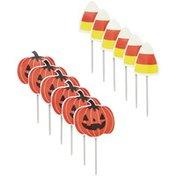 Wilton Pumpkin & Candy Corn Cupcake Topper Picks