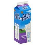 Alta Dena Milk, Fat Free