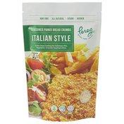 Pereg Natural Foods Seasoned Panko Bread Crumbs Italian Style, Non-GMO, Vegan, Kosher