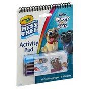 Crayola Activity Pad, Disney Junior Puppy Dog Pals