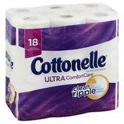 Cottonelle Toilet Paper, Big Rolls, 2-Ply