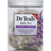 Dr. Teal's Bath Tea, Soothing Lavender
