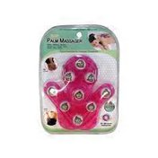 Lindo Pink Stress Reliever Hand Held Palm Massager