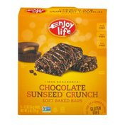 Enjoy Life Foods Soft Baked Bars Chocolate Sunseed Crunch - 5 CT