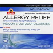 ShopRite Allergy Relief, Original Prescription Strength, 10 mg, Tablets