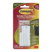3M Command Picture & Frame Hanging Sawtooth Sticky Nail + Stabilizer Strips