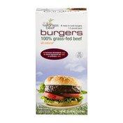 Tallgrass Bill Kurtis Tallgrass Beef Ready To Cook Burgers 1/3 Pound Each
