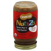 NuttZo Organic, Seven Nut & Seed Butter, Crunchy, Jar