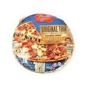 Mama Cozzi's Pizza Kitchen Thin Crust 4 Meat Pizza