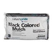 Nature's Pride Black Colored Mulch - 2 Cubic Ft