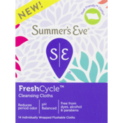 Summer's Eve Fresh Cycle Cleansing Cloths