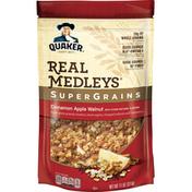 Quaker Granola, Cinnamon Apple Walnut, SuperGrains