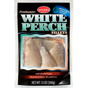 Wholey White Perch Fillets, Freshwater