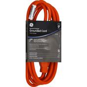 GE Grounded Cord, General Purpose, Indoor Outdoor