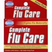 Hyland's Flu Care, Complete, Tablets