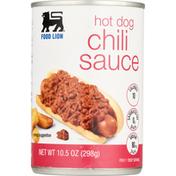 Food Lion Chili Sauce, Hot Dog