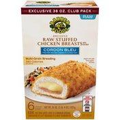 Barber Foods Breaded Stuffed Chicken Breasts, Cordon Bleu, 36 oz. (Frozen)