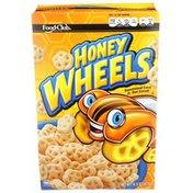 Food Club Honey Wheels Sweetened Corn & Oat Cereal