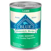 Blue Buffalo Homestyle Recipe Natural Adult Wet Dog Food, Lamb