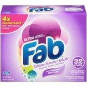 Fab Ultra Tahitian Summer Splash Laundry Detergent Powder
