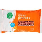 Food Club Peanuts, Spanish, Raw