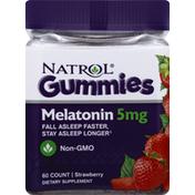 Natrol Melatonin, 5 mg, Strawberry, Gummies