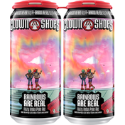 Clown Shoes Beer Beer, Rainbows Are Real, Hazy India Pale Ale