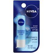 Nivea Smoothness Lip Care Sunscreen SPF 15