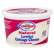 Umpqua Oats Cottage Cheese, Natural, 1.5% Milkfat Min, Lowfat