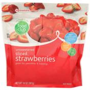 Food Club Unsweetened Sliced Strawberries
