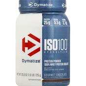 Dymatize ISO-100 Hydrolyzed Whey Protein Powder Chocolate 1.6 LBS