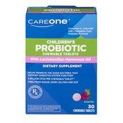 CareOne Children's Probiotic Chewable Tablets