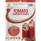 NewGemFoods Sandwich Wraps, Tomato